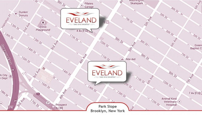 Eveland locations